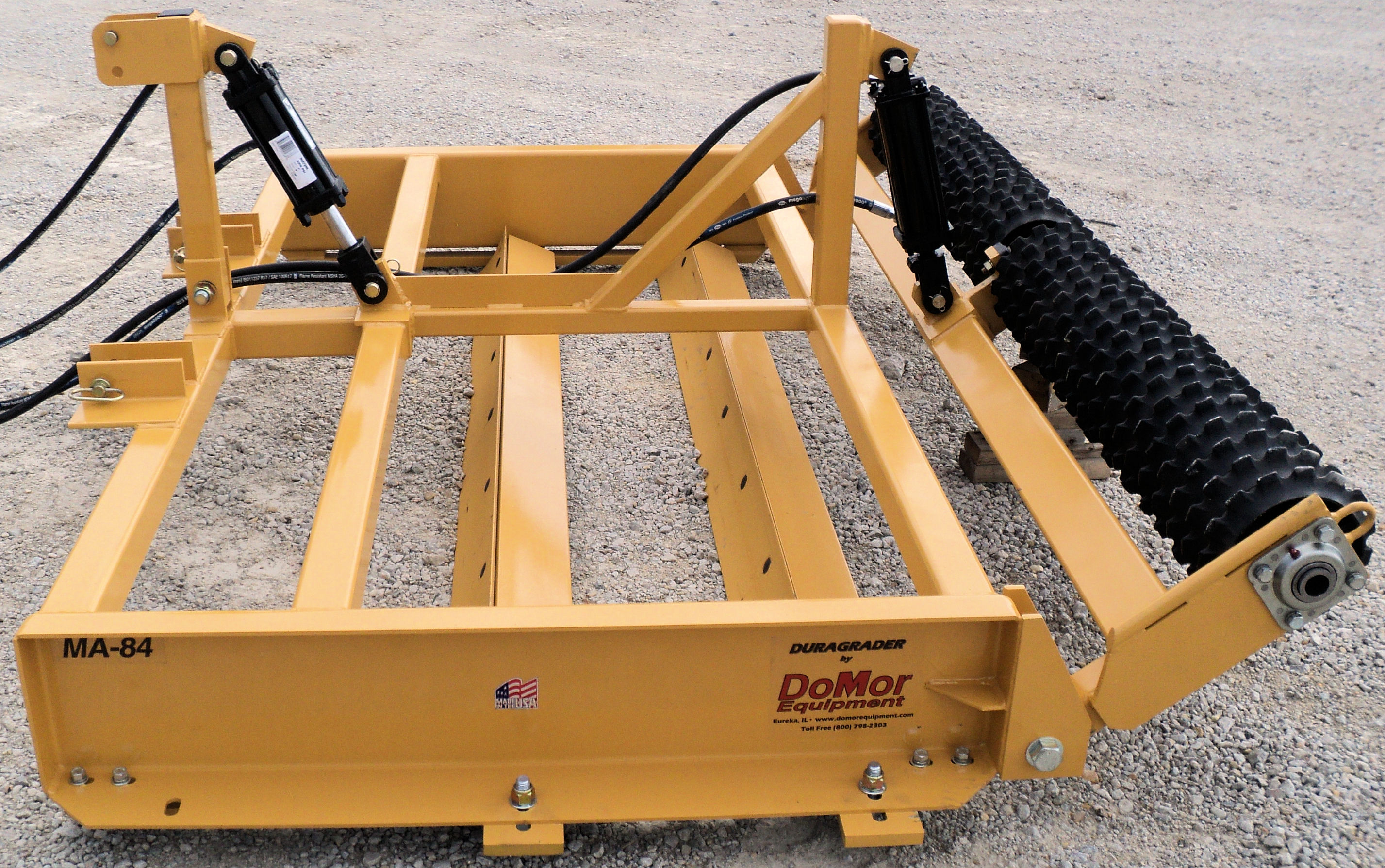 The Culti-Packer Add-on attachment works great for pulverizing and breaking up hard clumps and clods, and it can also be used to pack seeds to the proper depth for maximum seed growth for seed beds.